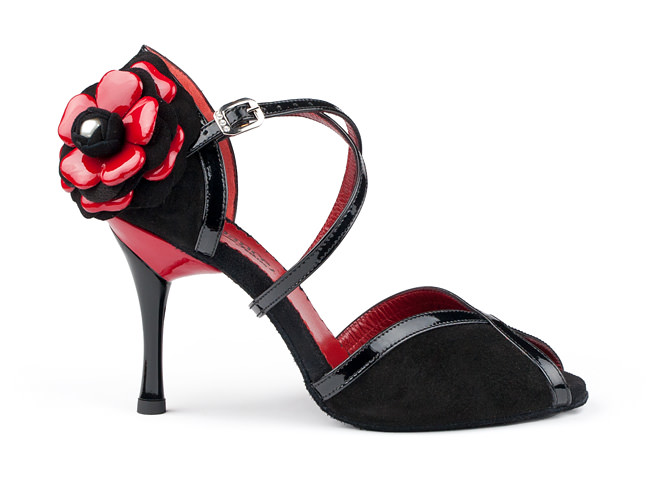 Red & Black Ladies Shoe